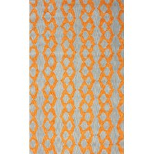 Brilliance Orange Hannah Plush Rug