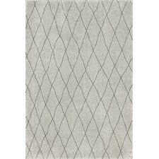 Shaggy Light Grey Casablanca Rug