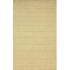 Goodwin Champagne Solid Plush Rug