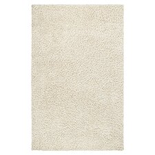 Shaggy White Rug