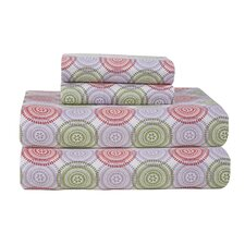 Heavy Weight Printed Flannel Sheet Set