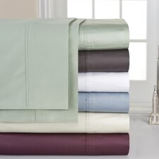 <strong>Pointehaven</strong> 400 Thread Count Deep Pocket Sheet Set