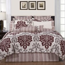 <strong>Pointehaven</strong> Luxury Ensemble 9 Piece Comforter Set