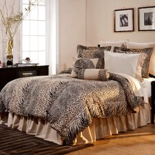 Luxury 8 Piece Animal Print Comforter Set