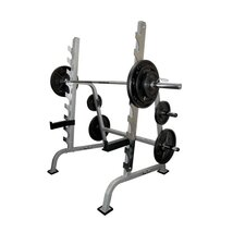 <strong>Valor Athletics</strong> Sawtooth Squat Bench Combo Power Rack