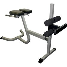 <strong>Valor Athletics</strong> Back Extension Adjustable Hyperextension Bench