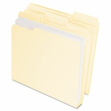 Doublestuff File Folders, Letter, 50/Pack