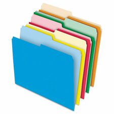 <strong>Pendaflex®</strong> Stretch Tab File Folders, Letter, Assorted, 100/Box