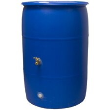 <strong>Good Ideas</strong> Rain Wizard Big Blue 55 Gallon Rain Barrel
