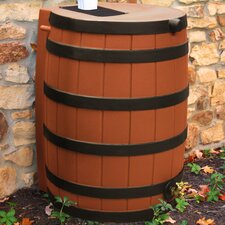 Rain Wizard 40 Gallon Rain Barrel with Darkened Ribs