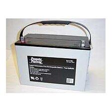 12 Volt 100 Amp Sealed Lead Acid Wheelchair Battery (Set of 2)