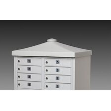 CBU Decorative Option Cap with Flat Finial