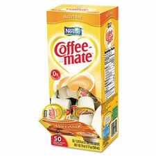 <strong>Coffee-mate®</strong> Hazelnut Creamer, 50/Box