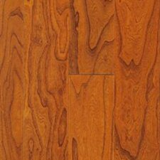 "Rio 4-9/10"" Smooth Engineered Elm Flooring in Canton Brown"