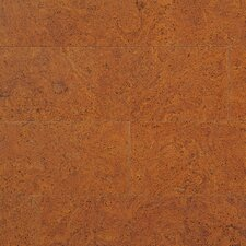 "Enviro Cork 6"" Engineered Cork Plank Flooring in Red Terracotta"