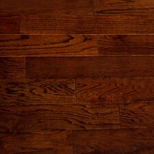 "Dakota II 5-1/2"" Smooth Engineered Red Oak Flooring in Lava"