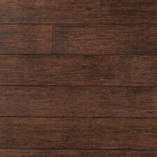 "Strand Woven 5"" Solid Bamboo Flooring in Cobra Brown"