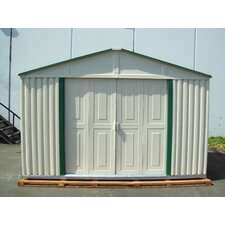 Teton 10.5 Ft. W x 6 Ft. D Vinyl Garage Shed