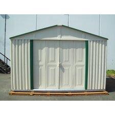 """Teton 6 ft D x 10' 5"""" W Vinyl Garage Shed"""