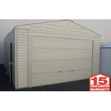 <strong>Duramax Building Products</strong> Vinyl Garage Shed