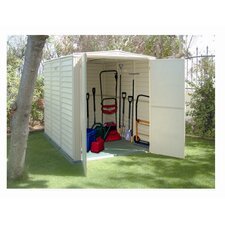 YardMate 5ft. W x 8ft. D Vinyl Garden Storage Shed