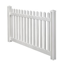 Traditional Classic Picket Fence