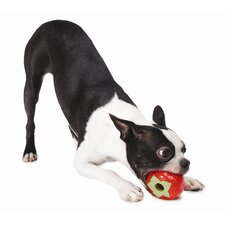 Orbee-Tuff Strawberry Dog Toy with Treat Spot