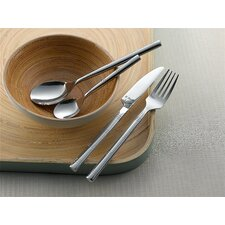 Cane Mirror Monogram Box Cutlery Set