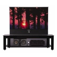 "Steel Foundations 65"" TV Stand in Black"