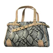 Snake Skin Handbag Pet Carrier