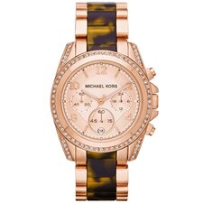 Tortoise Chronograph Women's Watch