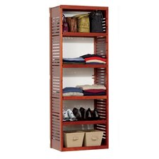 Deluxe Stand Alone Tower in Red Mahogany