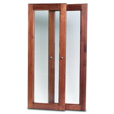Door Set in Red Mahogany