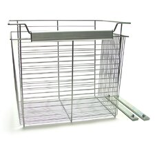 "<strong>John Louis Inc.</strong> 16"" x 20"" Basket in Satin Nickel"