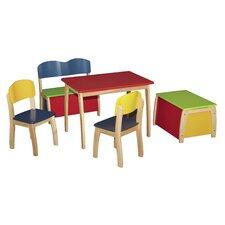 Kinder Tischset mit Stühlen (Set beinhaltet 5)