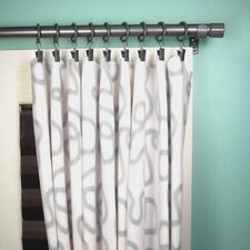 Downtown Pleated Curtain Panel (Set of 2)