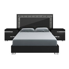 Lustro Panel Bed