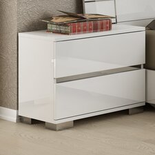 Vivente Icon 2 Drawer Nightstand