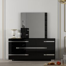 Vivente 6 Drawer Double Dresser