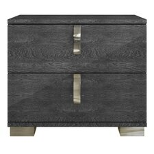 Noble 2 Drawer Nightstand