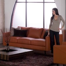 Domicile Studio Leather Sofa