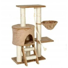 "<strong>Go Pet Club</strong> 38"" Cat Tree in Beige"