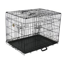 3-Door Metal Dog Crate