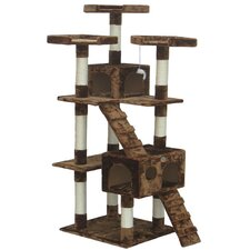 "<strong>Go Pet Club</strong> 72"" Cat Tree Condo House"