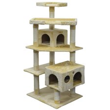 "60"" Cat Tree and Scratcher Post"