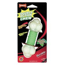 Double Action Chew Bone Dog Toy