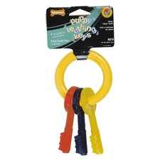 Puppy Teething Keys Dog Chew Toy