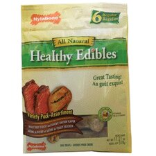 "8.5"" Healthy Edibles Variety Dog Treat (6-Pack)"