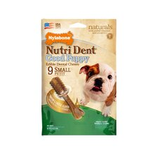 Nutri Dent Puppy Bacon and Cheese Dog Treat