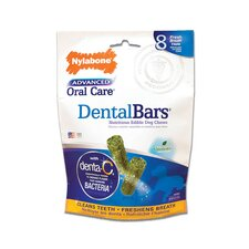 Advanced Oral Care Usa Rawhide Dental Bars Dog Treat (8-Pack)